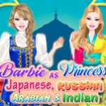 Barbie Princess: Japanese, Russian, Arabian and Indian