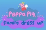 Pepe Prase: Family Dress Up
